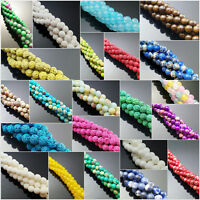 Lot Natural Gemstone Round Spacer Loose Beads Wholesale 4mm 6mm 8mm 10mm 12mm