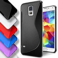 Samsung Galaxy S5 Neo Silicone Gel S Line Case Cover Ultra Thin Slim Back Bumper