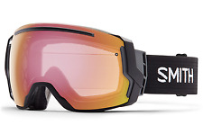 NEW Smith I/O7 Goggles-Black-Red Photochromic Sensor-SAME DAY SHIPPING!