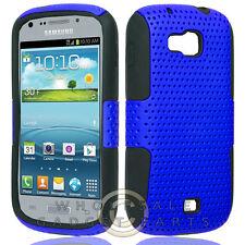 Samsung R830 Axiom Hybrid Mesh Case Blue/Black Cover Shell Protector Guard Skin