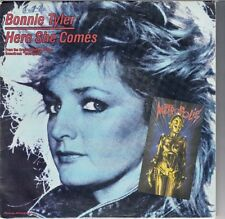 "45 T SP BONNIE TYLER  ""HERE SHE COMES"""