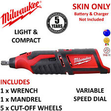 New MILWAUKEE CORDLESS ROTARY POWER TOOL Compact 12V M12 Lithium-Ion C12RT-0