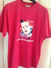 NEW  Ladies THATCHER The Musical! Pink T Shirt