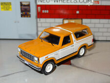 1980-86 FORD BRONCO SUV 4X4 1/64 SCALE DIECAST LIMITED EDITION DIORAMA DIECAST M