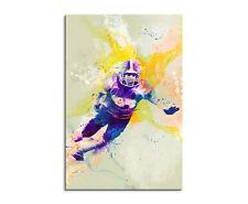 90x60cm Paul Sinus Splash tipo dipinto arte immagine American _ FOOTBALL _ IV Multicolore
