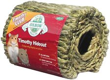 OXBOW ANIMAL HEALTH GRASSY GRASS WOVEN TIMOTHY HAY HIDEOUT HUT. FREE SHIP TO USA