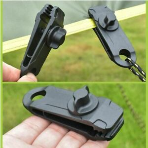Heavy Duty Tent Awning Canopy tarp canvas clamp clip snap anchor gripper