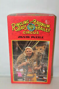 Ringling Bros. and Barnum and Bailey 200 Pc Puzzle Gunther Gebel-Williams