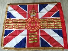 More details for the royal regiment of fusiliers 2nd battalion queens colours flag.