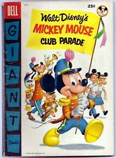Deli Giant Mickey Mouse Club Parade #1 Very Good 4.0 1955