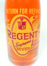vintage ACL Soda POP  Bottle: Full REGENT ORANGE of PITTSBURGH, PA -  7 OZ  ACL