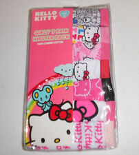 7 Hello Kitty Cotton Hipster Panty Underwear Underpants Girls Size 6 Multi-Color