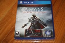 Brand New Sealed PS4 Assassin's Creed The EZIO Collection SHIP FREE US FAST