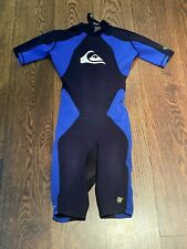 QUIKSILVER IGNITE HYPERSTRETCH ADULTS WETSUIT SIZE XS - SHORT