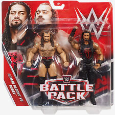 Mattel WWE Battle Packs Series 47 Roman Reigns & Rusev Action Figures