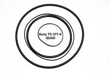 SET CINGHIE SONY TC-377-4  QUAD REGISTRATORE A BOBINE BOBINA NUOVE TC377-4 FRESH