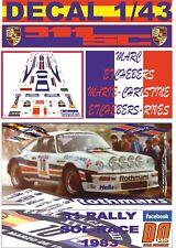 DECAL 1/43 PORSCHE 911 SC ROTHMANS M.ETCHEBERS R.SOL-RACE 1983 DnF (04)