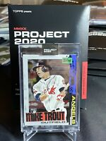 TOPPS PROJECT 2020 MIKE TROUT BY ROCHESTER W/BOX IN HAND *FREE SHIPPING*