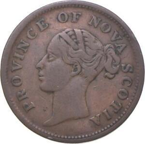 Better - 1840 Canadian Provinces 1 Penny Token - Nova Scotia - TC *440
