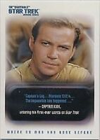 Quotable Star Trek TOS QUOTABLE 110 CARD BASIC / BASE SET