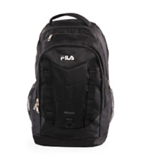 Fila Deacon 4 Black and Grey Backpack Laptop Compartment New Xxl Capacity