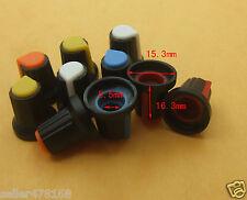 40PCS 5.5mm 5 Color Volume Knob tune control for Mixer AMPLIFIER Oscilloscope