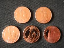 5 1/2 oz Statue of Liberty .999 Fine Copper Rounds Freshly Minted