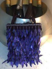 Pequeño Bolso Bolso De Mano Fiesta Violeta Azul Brillante