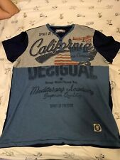 """T-Shirt Desigual """"California"""" Size M for men with Short Sleeve"""