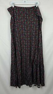 LuLaRoe Women's Floral Maxi Skirt sz 3XL