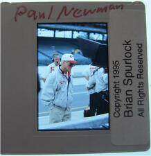 PAUL NEWMAN NEWMAN HAAS RACING HUSTLER WINNING STING INDY 500 ORIGINAL SLIDE 1