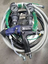 New listing Graco Electrostatic System W / Pro-40 Kv Booster Gun =To 60 Kv'S 💲Low Cost💲