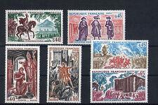 France 6 timbres non oblitérés gomme**  20  Figures historiques