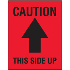 New Listing3 X 4 Caution This Side Up Arrow Labels 2000 Pcs