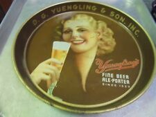 Vintage Yuengling's Beer Tray D. G. Yuengling & Son Pottsville, Pa