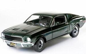 1968 Ford Mustang GT Fastback Steve McQueen Bullit in 1:18 by Greenlight 12822
