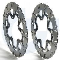 2pcs Motors steel Front Brake Disc Rotors For SUZUKI GSF BANDIT 650 2007-2012