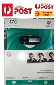 Logitech Webcam C170 Pro USB 2.0 High-Resolution PC Camera WIth Mic