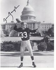 Sammy Baugh Signed Autographed Washington Redskins Capital 8x10 Photo