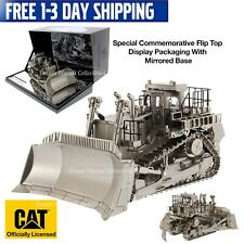 CAT CATERPILLAR D11T TRACK TRACTOR DOZER MATTE SILVER 1:50 DIECAST MASTERS 85252