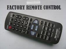 SHARP RRMCG1178GESA DVD PLAYER REMOTE CONTROL DV650U, DV600U, DV600, DV650