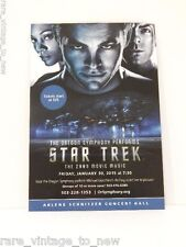 NEW Star Trek Oregon Symphony of Heroes Zelda Postcard Promo Card Music