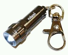 LED Aluminium Key Ring Torch - Ideal Small Gift - by Rolson Tools