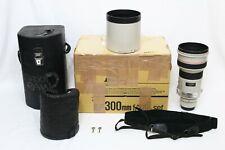 Canon Ef 300mm f/2.8 L Usm Lens Super Sharp Eos Digital Camera Telephoto 5D 7D