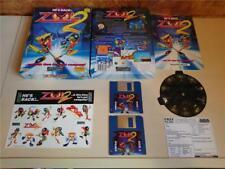 AMIGA-ZOOL 2-Gremlin Graphics - 1993-G/C + Feuille Autocollant