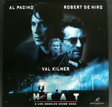 LASERDISC Heat - Al Pacino / Robert de Niro / Val Kilmer