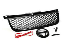 99-05 VW MK4 Jetta Bora GLI RS Style Honeycomb Hex Mesh Grille w/ Badge Holder