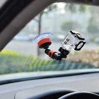 Support de support de pare-brise pour voiture à ventouse pour appareil photo