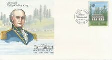 Norfolk Island PSE Numbers 20 to 27 First Day Issue cancels (8 Covers)