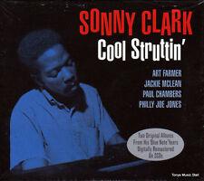 SONNY CLARK - COOL STRUTTIN'  (NEW SEALED 2CD)